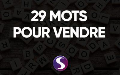 29 mots pour vendre : The One Sentence Persuasion